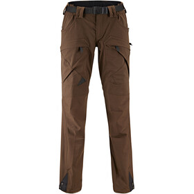 Klättermusen W's Gere 2.0 Regular Pants Dark Coffee